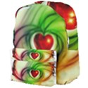 Heart Love Luck Abstract Giant Full Print Backpack View4
