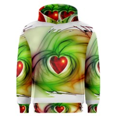 Heart Love Luck Abstract Men s Overhead Hoodie by Pakrebo