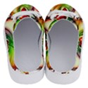 Heart Love Luck Abstract Half Slippers View4