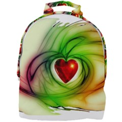 Heart Love Luck Abstract Mini Full Print Backpack by Pakrebo