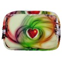 Heart Love Luck Abstract Make Up Pouch (Small) View1