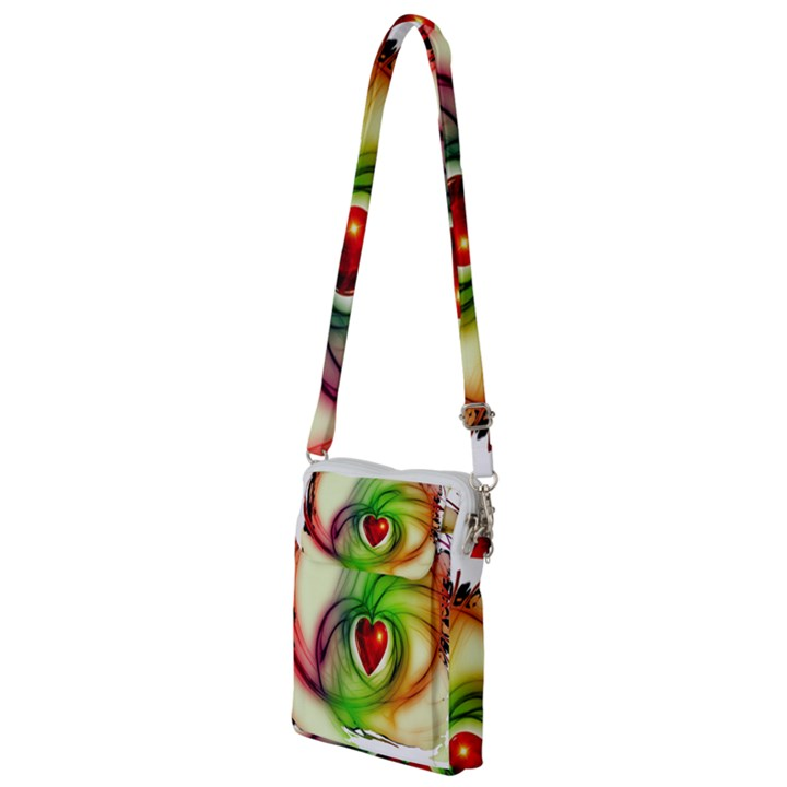 Heart Love Luck Abstract Multi Function Travel Bag