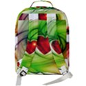 Heart Love Luck Abstract Double Compartment Backpack View3