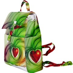 Heart Love Luck Abstract Buckle Everyday Backpack