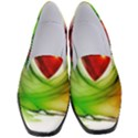 Heart Love Luck Abstract Women s Classic Loafer Heels View1
