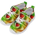 Heart Love Luck Abstract Kids  Velcro Strap Shoes View2