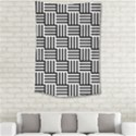 Black And White Basket Weave Small Tapestry View2