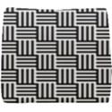 Black And White Basket Weave Seat Cushion View1
