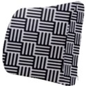Black And White Basket Weave Seat Cushion View3