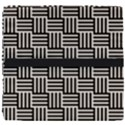 Black And White Basket Weave Seat Cushion View4