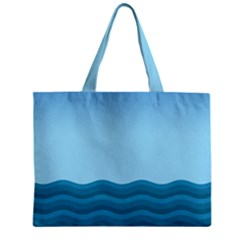 Making Waves Mini Tote Bag by WensdaiAddamns