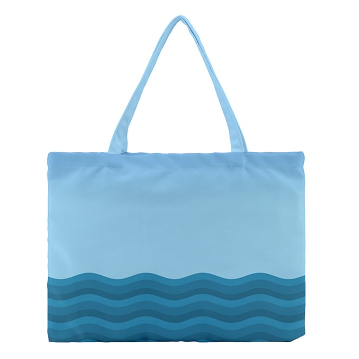 Making Waves Medium Tote Bag