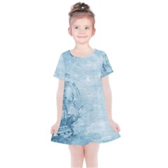 Sail Away   Vintage   Kids  Simple Cotton Dress