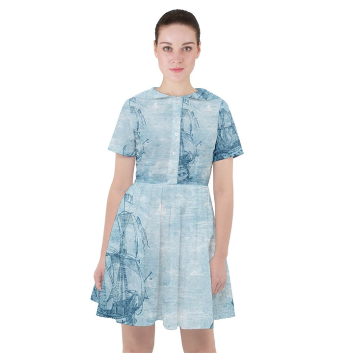 Sail Away - Vintage - Sailor Dress