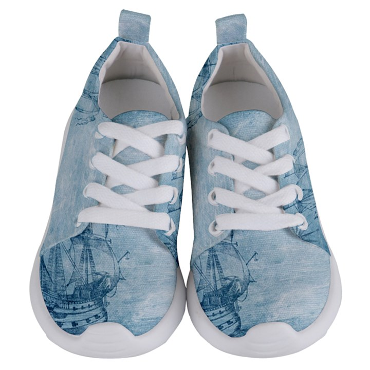 Sail Away - Vintage - Kids  Lightweight Sports Shoes