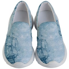 Sail Away   Vintage   Kids  Lightweight Slip Ons