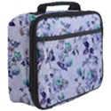 Vintage Roses Purple Full Print Lunch Bag View3