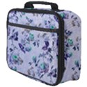 Vintage Roses Purple Full Print Lunch Bag View4