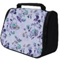 Vintage Roses Purple Full Print Travel Pouch (Big) View1