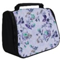 Vintage Roses Purple Full Print Travel Pouch (Big) View2