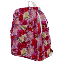 Bed Of Roses Top Flap Backpack