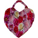 Bed Of Roses Giant Heart Shaped Tote View1