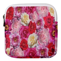 Bed Of Roses Mini Square Pouch
