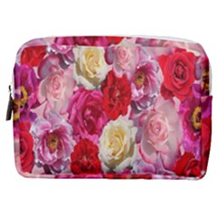 Bed Of Roses Make Up Pouch (medium)