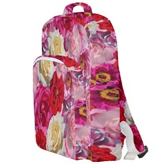 Bed Of Roses Double Compartment Backpack