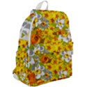Daffodil Surprise Top Flap Backpack View2