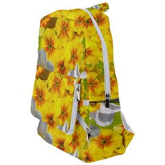 Daffodil Surprise Travelers  Backpack by retrotoomoderndesigns