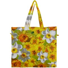 Daffodil Surprise Canvas Travel Bag