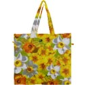 Daffodil Surprise Canvas Travel Bag View1