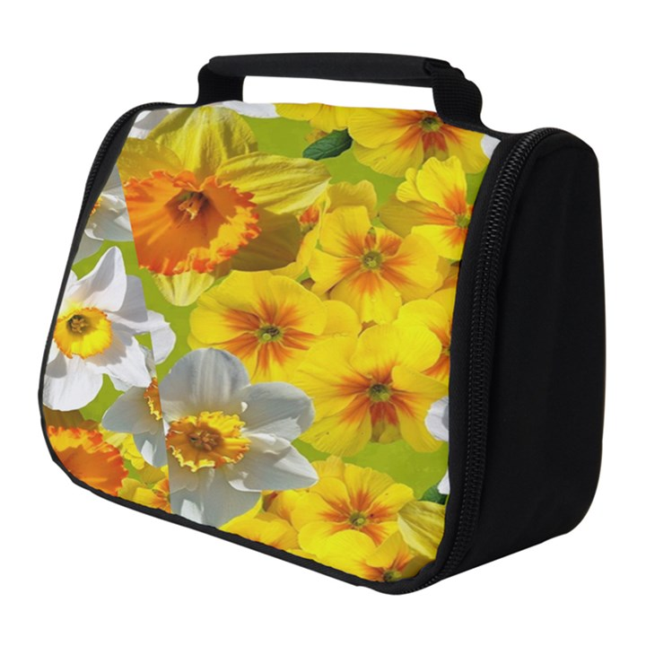Daffodil Surprise Full Print Travel Pouch (Small)