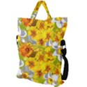 Daffodil Surprise Fold Over Handle Tote Bag View2