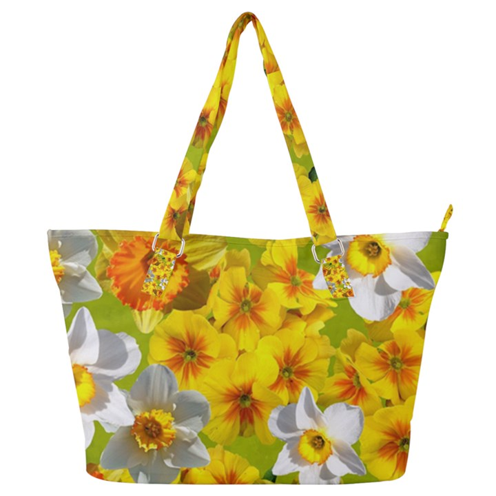 Daffodil Surprise Full Print Shoulder Bag