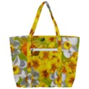Daffodil Surprise Zip Up Canvas Bag View3