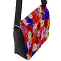 Multicolored Daisies Flap Closure Messenger Bag (S) View2