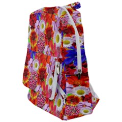 Multicolored Daisies Travelers  Backpack by retrotoomoderndesigns