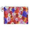 Multicolored Daisies Canvas Cosmetic Bag (XL) View1