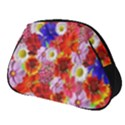 Multicolored Daisies Full Print Accessory Pouch (Small) View1