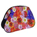 Multicolored Daisies Full Print Accessory Pouch (Small) View2