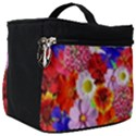 Multicolored Daisies Make Up Travel Bag (Big) View1