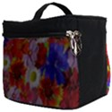Multicolored Daisies Make Up Travel Bag (Big) View2