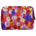 Multicolored Daisies Make Up Pouch (Medium) View2