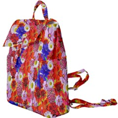 Multicolored Daisies Buckle Everyday Backpack