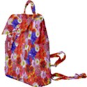 Multicolored Daisies Buckle Everyday Backpack View1