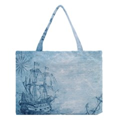 Sail Away   Vintage   Medium Tote Bag by WensdaiAddamns