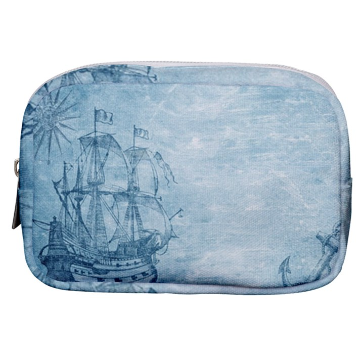 Sail Away - Vintage - Make Up Pouch (Small)