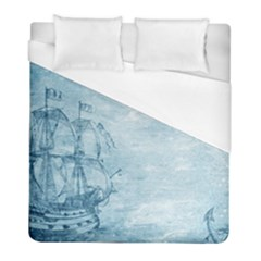 Sail Away   Vintage   Duvet Cover (full/ Double Size)